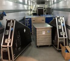 gps global orchestra trailer temperature controlled tail lift lighting e track system